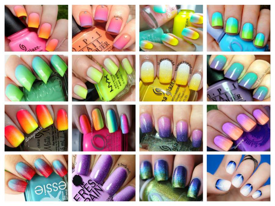 16 Ombre Nail Arts To Try In This Summer!