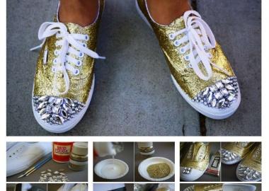 diy miu miu sneakers