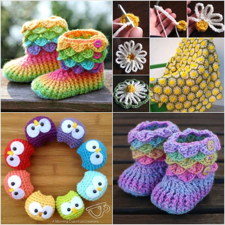 45+ Cute and Adorable Crochet Project Patterns