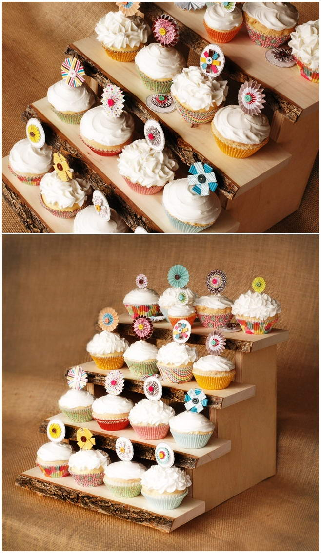 Unique Cupcake Stands for Parties and Weddings