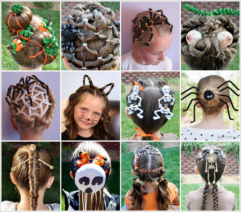 15 Creative and Spooky Halloween Hairstyles