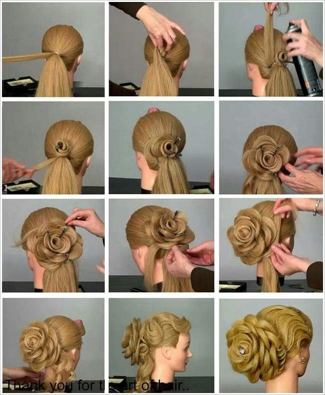 10 Stunning Rose Inspired Hairstyles for Different Occasions Mail Online