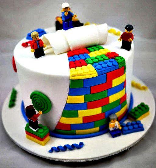 Make Lego Cake Design : 10 Lego Cake Ideas To Make On Any Birthday!