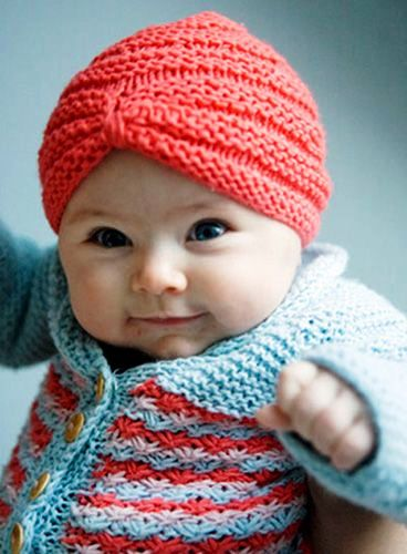 Crochet Baby Turban For Your Princess! ff0b1e83671