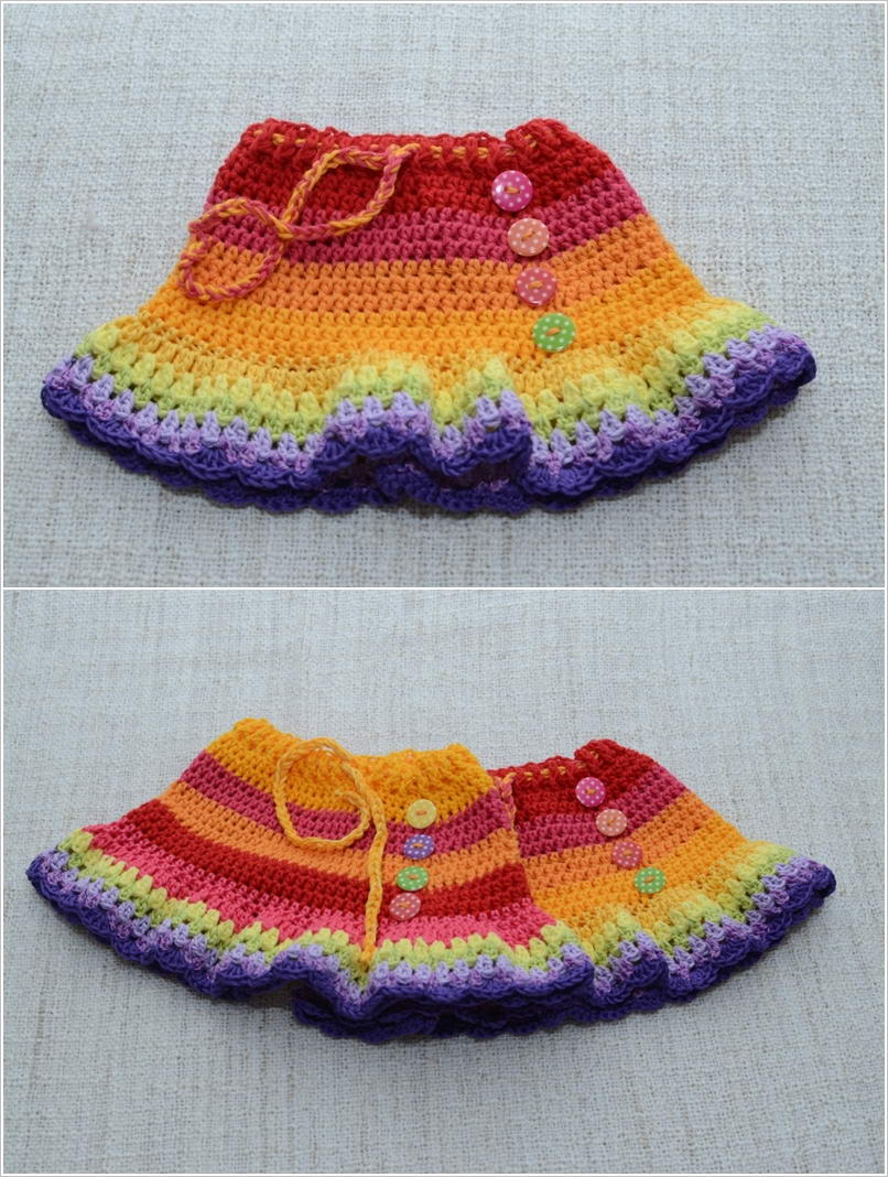 Adorable Crochet Skirts for Your Baby Girl