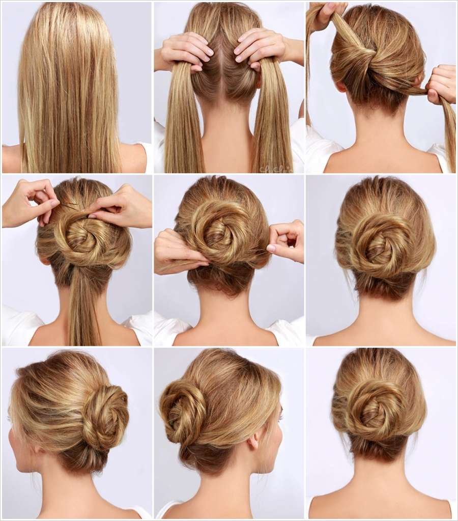10 Stunning Rose Inspired Hairstyles For Different