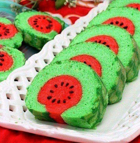 watermelon dessert