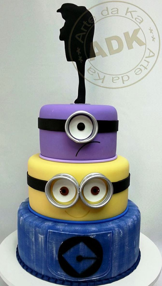 Easy Minion Cake Recipe