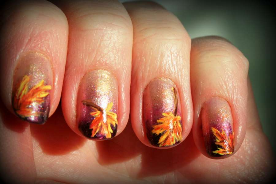 10 Fall Nail Arts To Try In This Season!