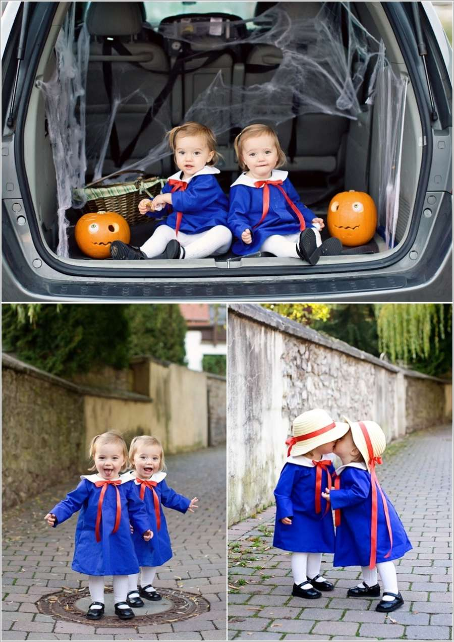 10 Cute Halloween Costume Ideas For Twin Babies