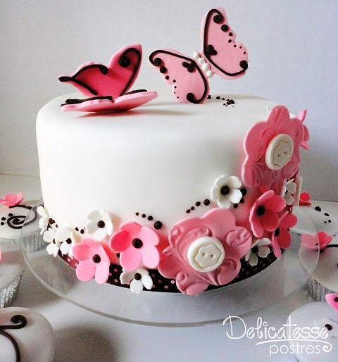 10 Butterfly Cakes To Make For Your Loved Ones