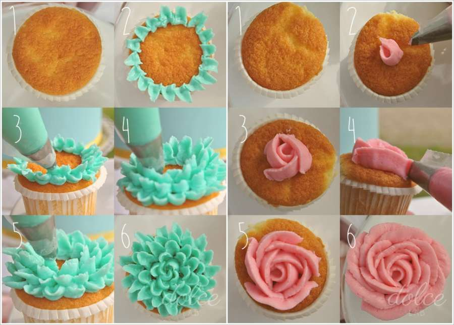 Try These Awesome Cupcake Frosting Techniques