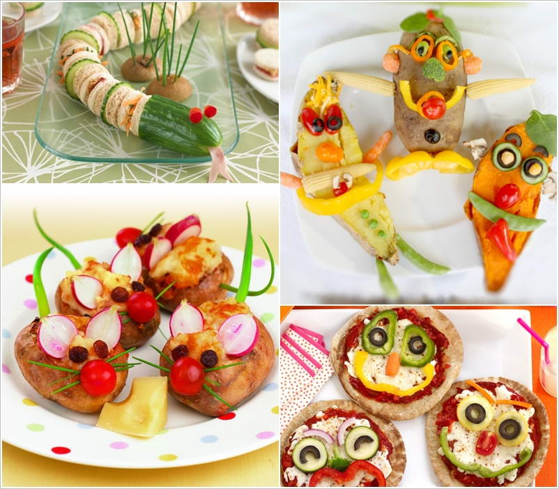 10 Cool And Creative Party Food Ideas For Kids