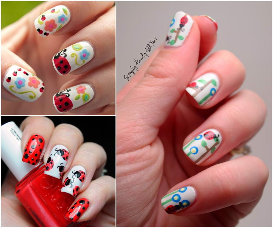 - Would You Like To Paint Your Nails With Ladybug Nail Art?
