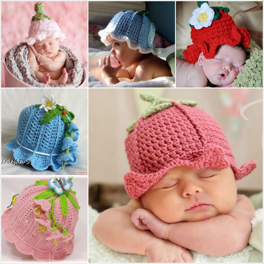 e7d4021c464 These Crochet Baby Bluebell Hats are Simply Adorable