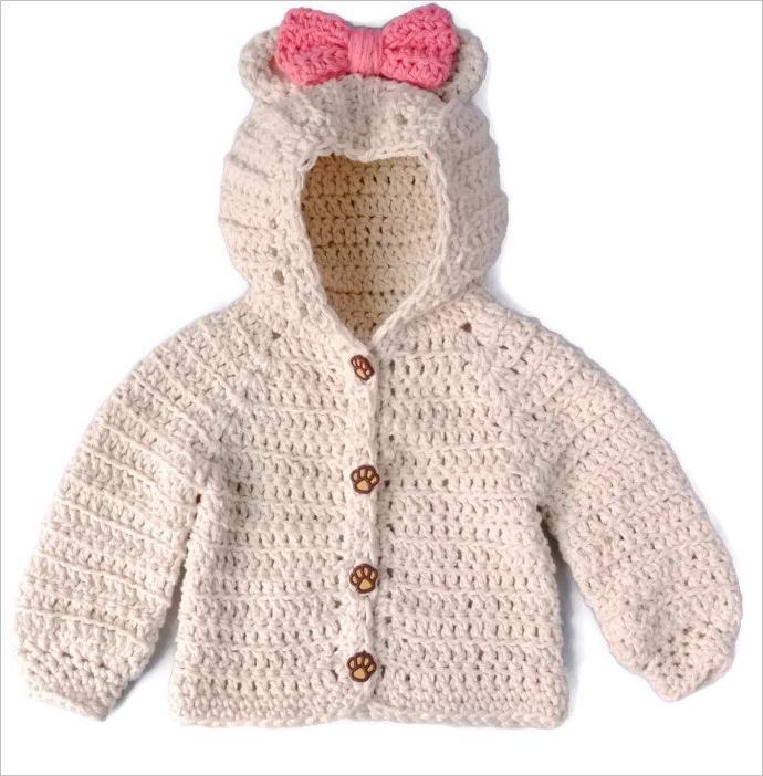 Teddy Bear Cowl Crochet Pattern Free : 10 Cute Teddy Bear Crochet Projects and Patterns