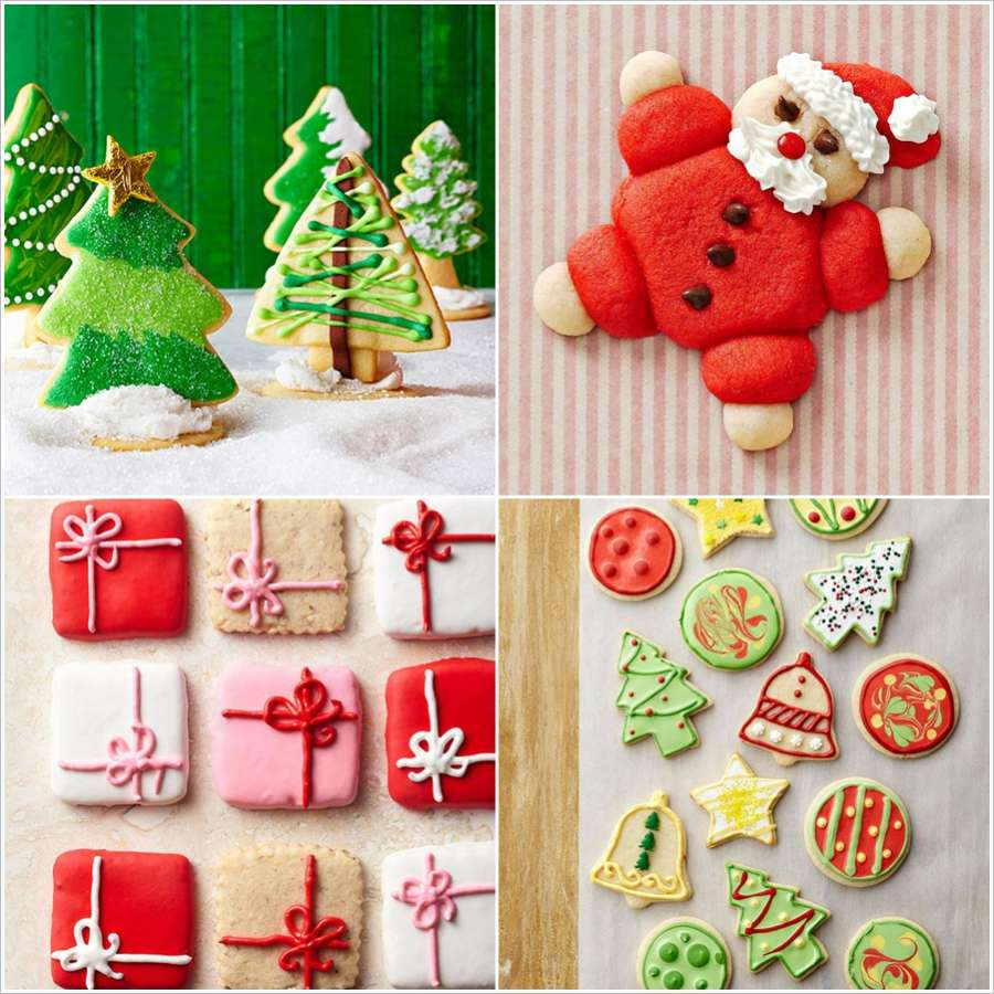 11 festive christmas sugar cookie ideas - Pictures Of Decorated Christmas Sugar Cookies