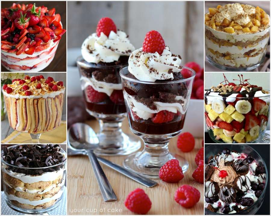 75 trifle recipes that you will love to make for Different types of cakes recipes with pictures