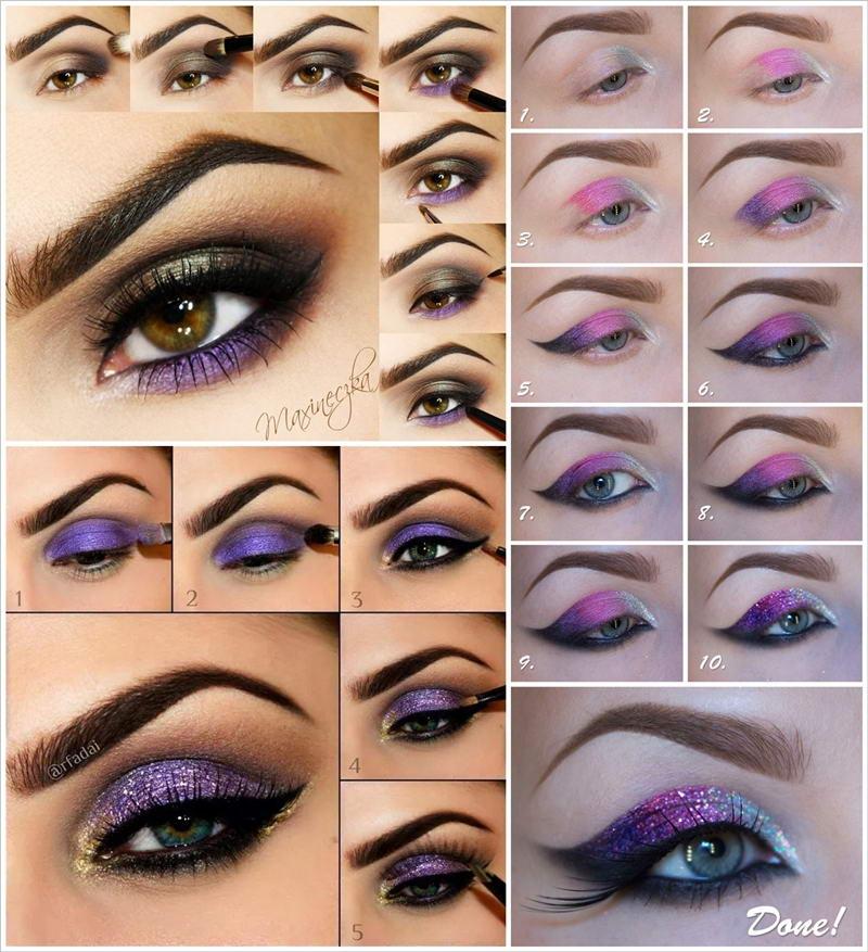 9 Gorgeous Purple Eye Makeup Tutorials