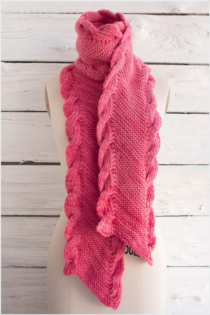 Knitting Pattern Ribbed Scarf : 5 Stylish Knit Scarf Patterns That You ll Love to Try