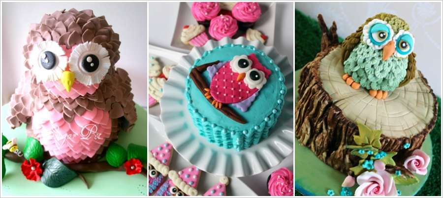 These Owl Cakes Are Simply Super Cute