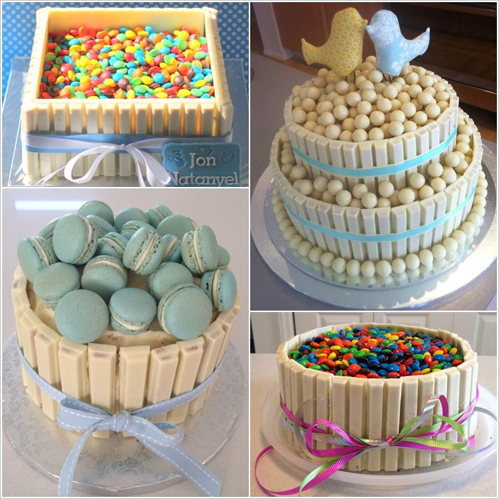 Cake Design Kit Kat : 5 White Kit Kat Cake Ideas That Are Deliciously Beautiful