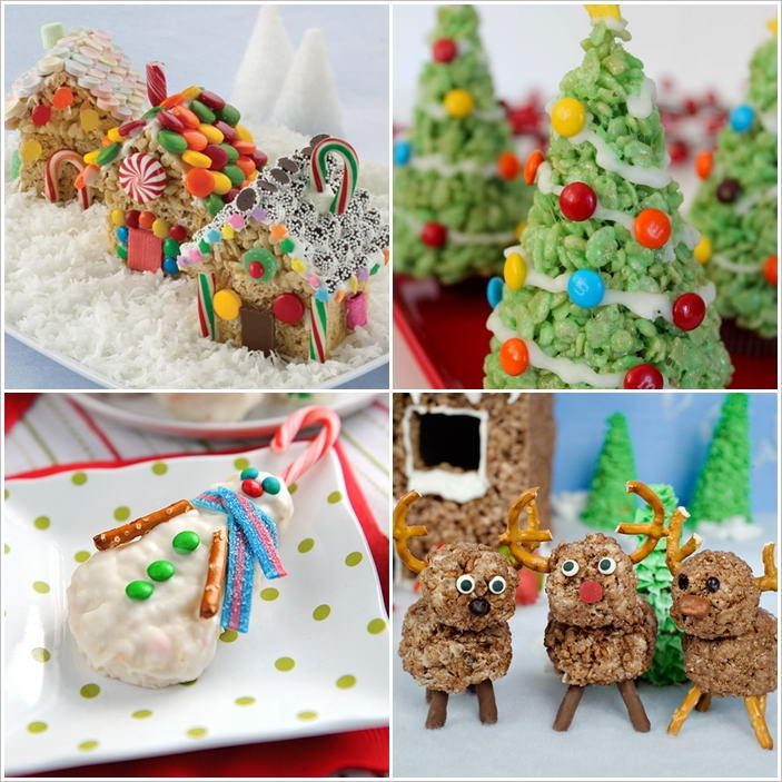 10 Yummy Rice Krispies Christmas Treats to Try