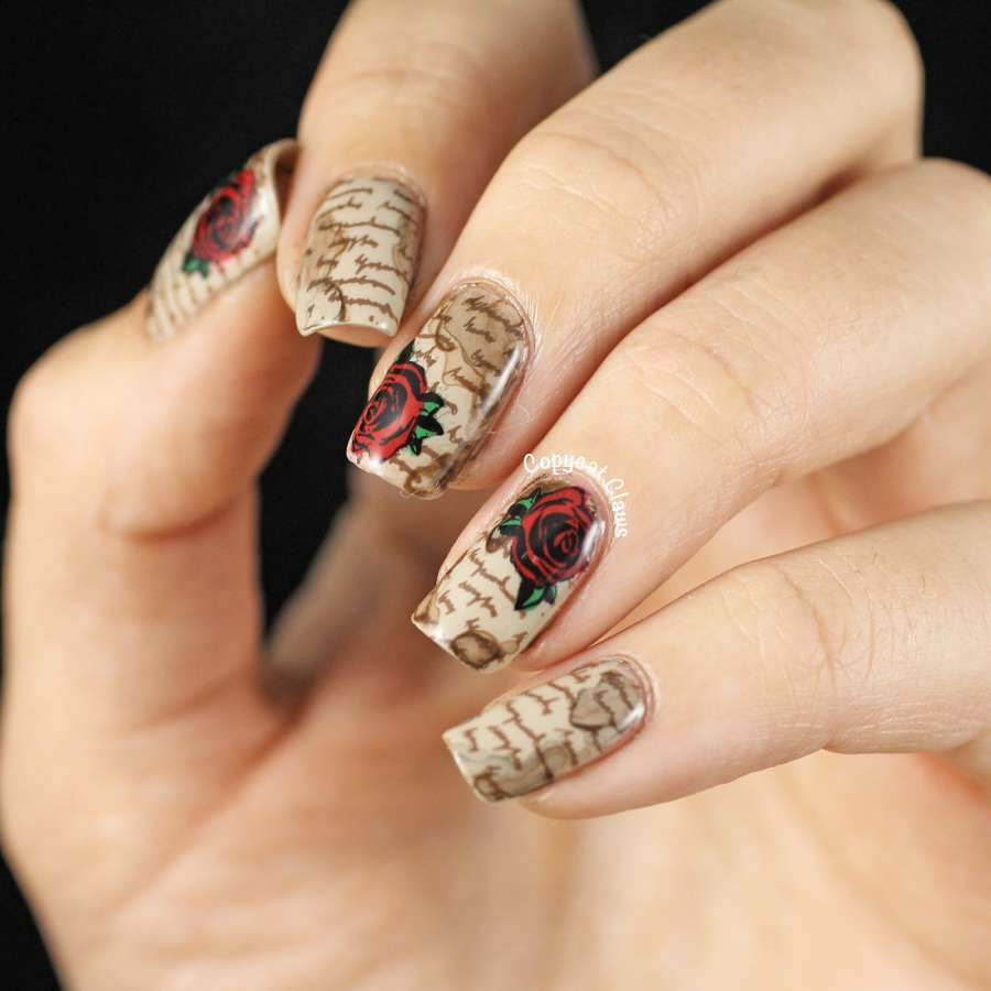 10 Love Letter Nail Art Ideas For A Date!