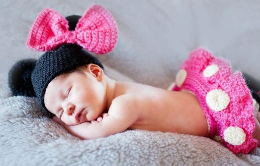 10 Crochet Minnie Mouse Hats For Your Little One!