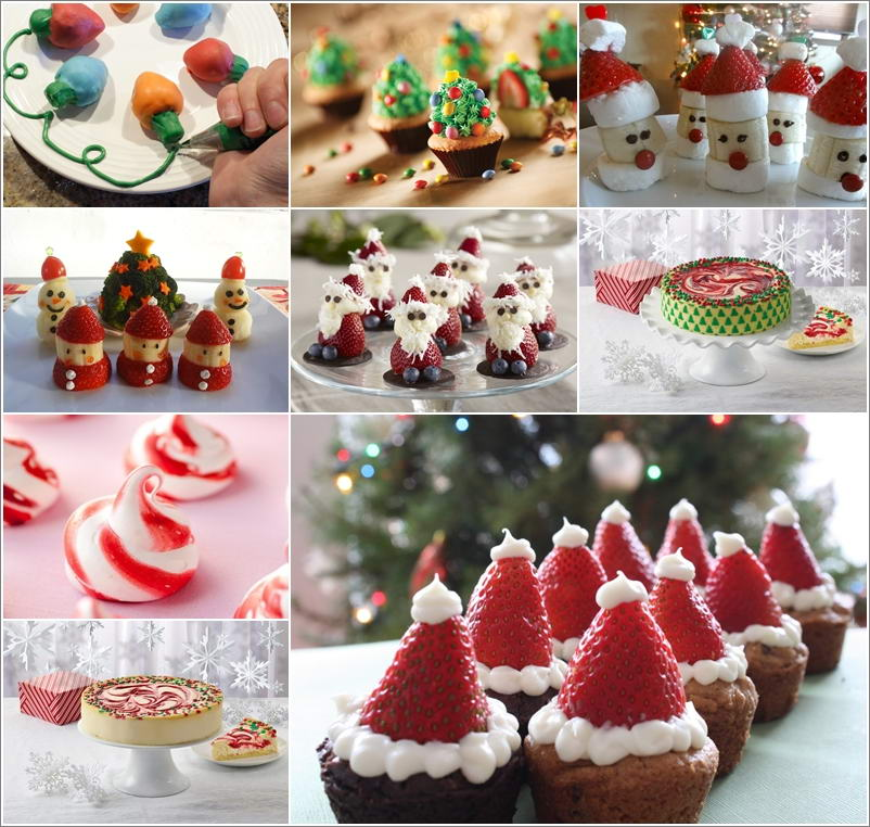 10 Irresistible Strawberry Christmas Desserts