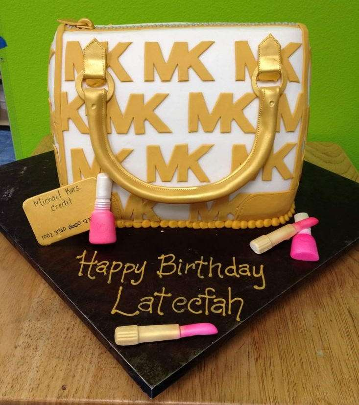 Michael Kors Cake Ideas For Any Fashionista - Purse birthday cake ideas