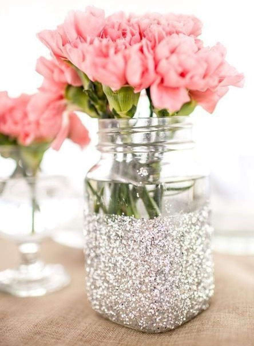 Цветы в вазочке своими руками