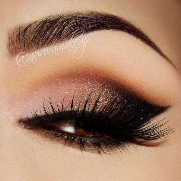 10 Bronze Eye Makeup Ideas For Any Party