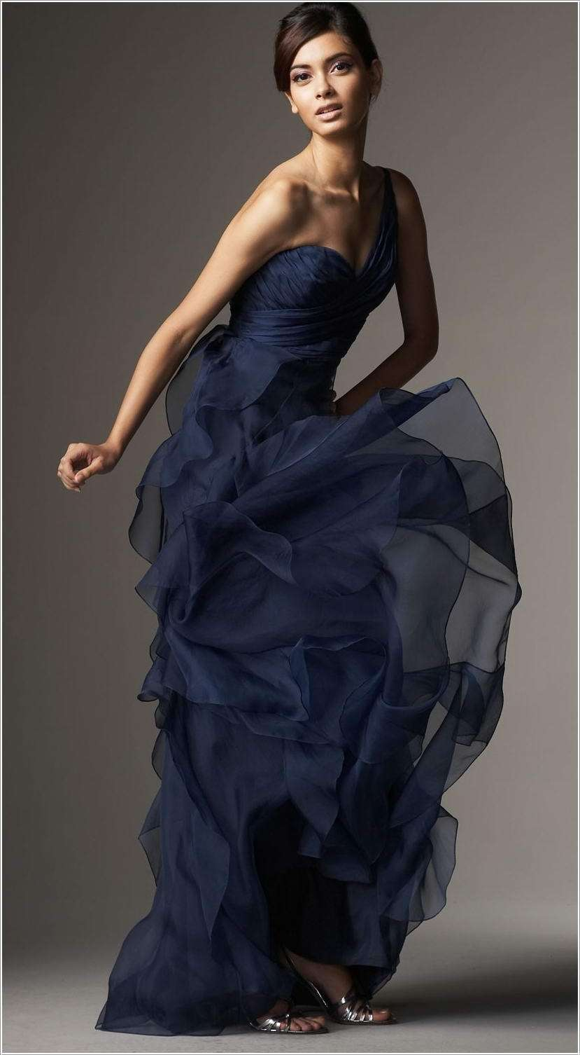 10 super stylish navy blue dresses for fashionistas image via neimanmarcus ombrellifo Image collections