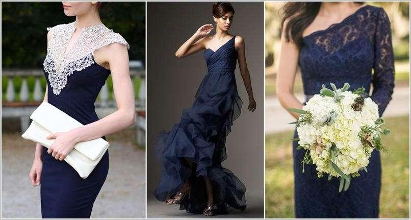 10 Super Stylish Navy Blue Dresses for Fashionistas