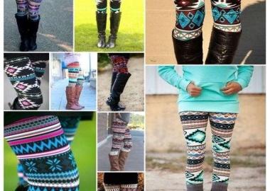 Aztec legging