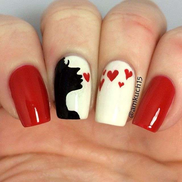 10 Gorgeous Valentines Day Nail Art Ideas
