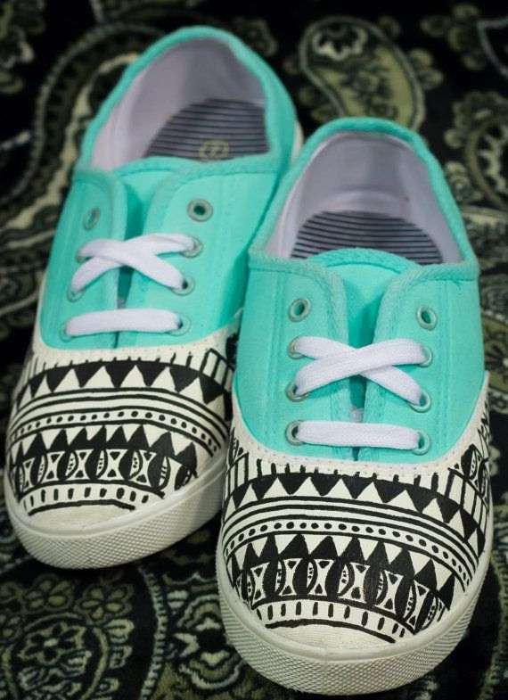 Tribal sneakers