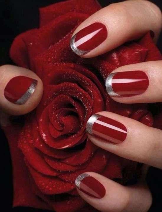 Valentine's Day nail arts