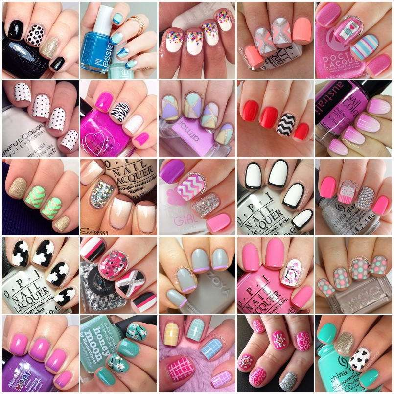 80 Stylish Nail Art Ideas for Short Nails