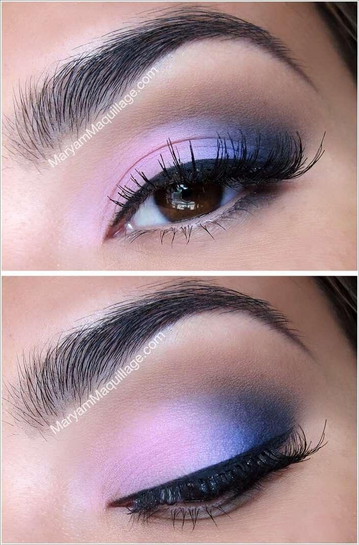 10 Stunning Two Tone Eye Makeup Ideas