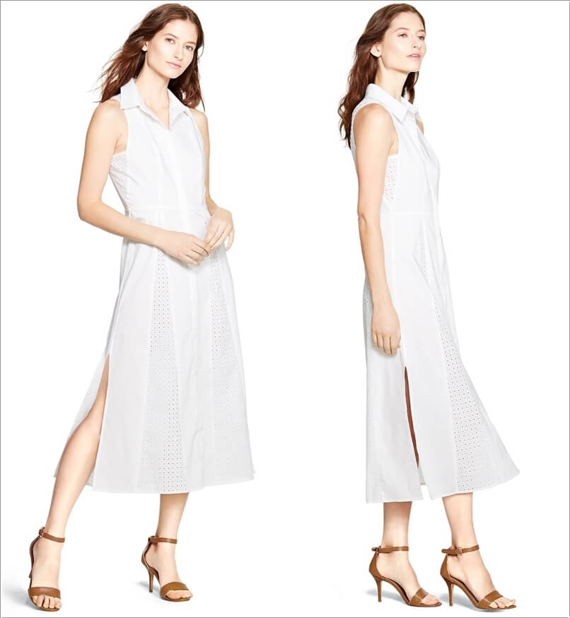 10 white dresses with different kinds of necklines for Different necklines for wedding dresses