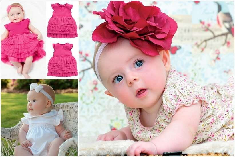 Super Cute Dresses for Your Baby Girl to Wear in Summer