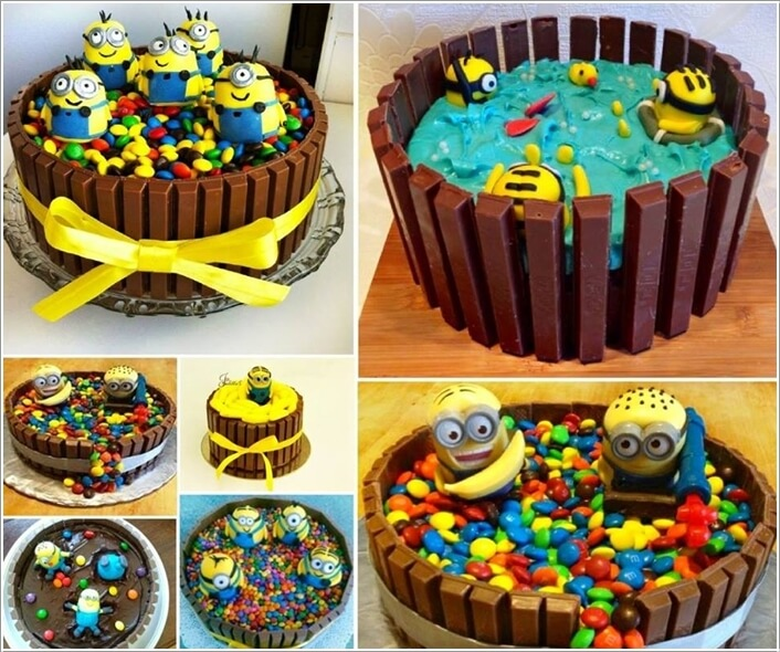 Image Via Thewhoot 2 Make A Ercream Minion Cake