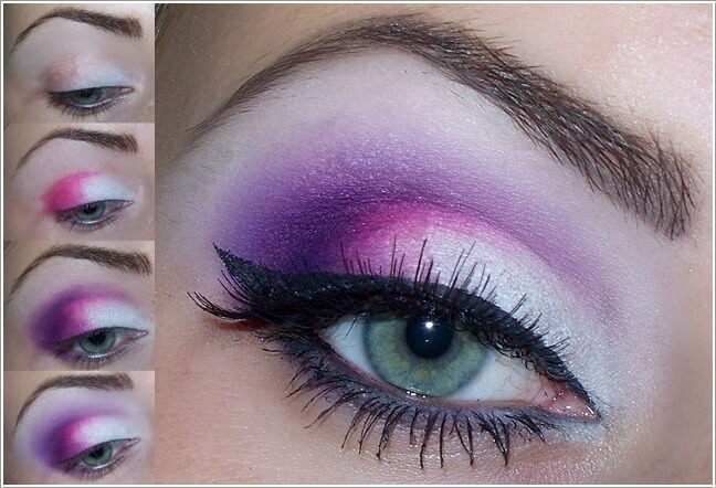 Learn how to wear pink and purple eye makeup  myglammcom