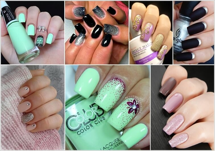 - 10 Awesome Two Tone Nail Art Ideas