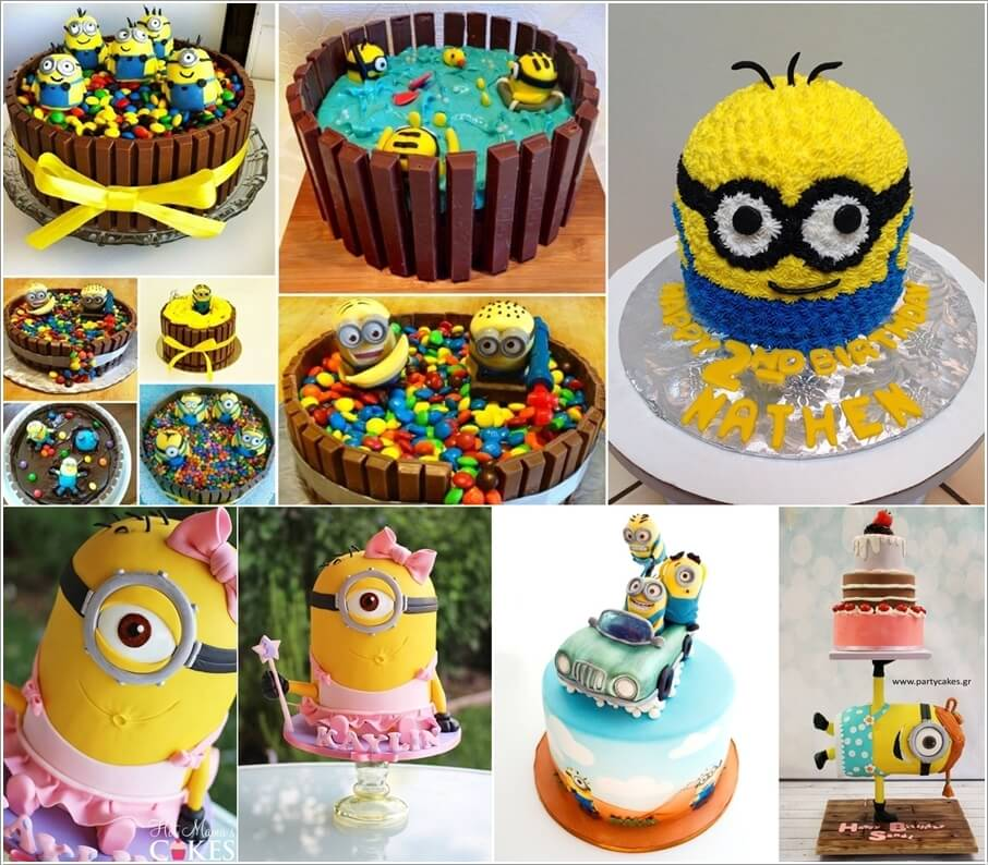 5 Awesome Minion Cake Ideas You Will Absolutely Love