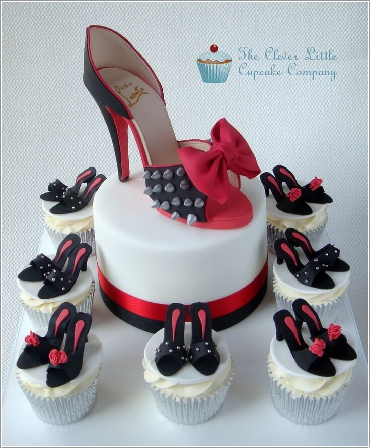 Birthday Cake Designs Shoes : 8 Stunning Designer Shoe Cakes You ll Love
