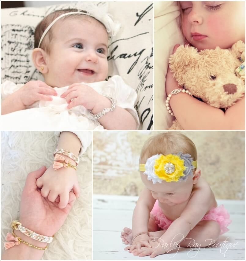 little custom bracelet pin baby personalized gifts girl