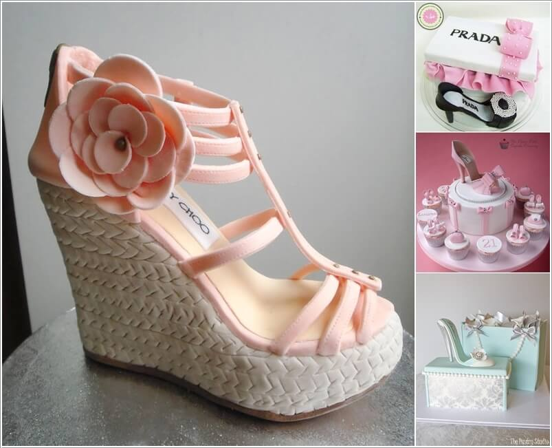 8 Stunning Designer Shoe Cakes Youll Love